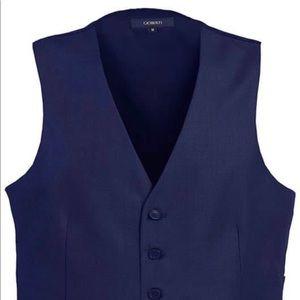 Gioberti Mens Formal Suit Vest 5X